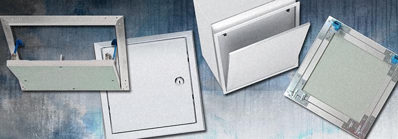 Placa de yeso laminado trampillas y perfiles pladur for Placas de pladur para techos